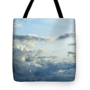 Clouds Of Blue Tote Bag