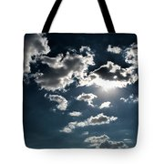 Clouds On A Sunny Day Tote Bag