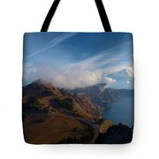 Clouds On The Horizon Tote Bag