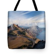 Clouds On The Ridge Tote Bag