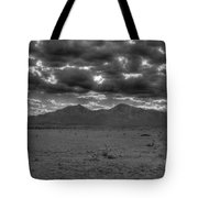 Clouds Over Capitan Tote Bag