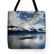 Clouds Over Islands Tote Bag