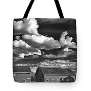Clouds Over Knox 13804b Tote Bag