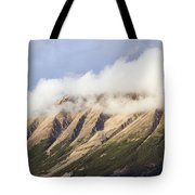 Clouds Over Porphyry Mountain Tote Bag