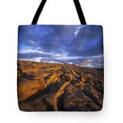 Cloudscape Over A Landscape, The Tote Bag