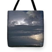 Cloudy Horizon Tote Bag