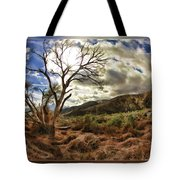 Cloudy Valley  Tote Bag