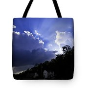 Cloudy With A Chance Of Sunshine Tote Bag