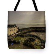 Clovelly Harbour Tote Bag