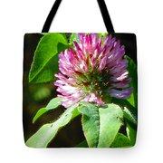 Clover Blossom Day Tote Bag