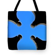 Cloverleaf Window Tote Bag