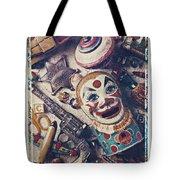 Clown Bank Tote Bag