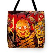 Clown Toy And Old Playthings Tote Bag