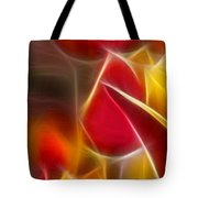 Cluisiana Tulips Triptych Panel 1 Tote Bag