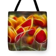 Cluisiana Tulips Triptych Panel 2 Tote Bag