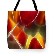 Cluisiana Tulips Triptych Panel 3 Tote Bag