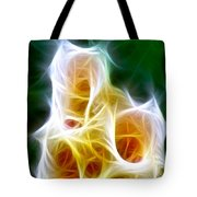 Cluster Of Gladiolas Triptych Panel 1 Tote Bag