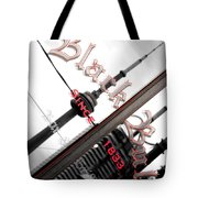 Cn Tower Reflected Tote Bag