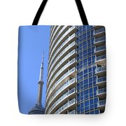 Cn Tower Tote Bag