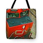Cn Train Cab Tote Bag