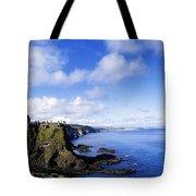 Co Antrim, Dunluse Castle Tote Bag