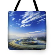 Co Derry, Ireland High Angle View Of Tote Bag