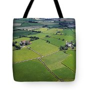 Co Fermanagh, Ireland Aerial View Of Tote Bag