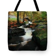 Co Wicklow, Ireland Waterfalll Near Tote Bag