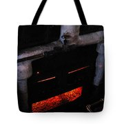 Coal Burner Face Tote Bag