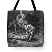 Coal Mine Disaster, 1884 Tote Bag