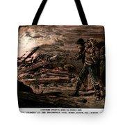 Coal Mine Explosion, 1884 Tote Bag
