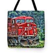 Coal Train Hdr Tote Bag