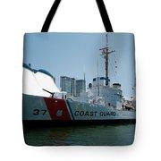 Coast Guard History  Tote Bag