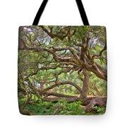 Coast Live Oak Tote Bag