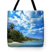 Coast Of Indian Ocean Tote Bag