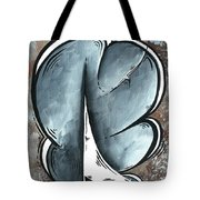 Coastal Art Contemporary Sailboat Painting Whimsical Design Shining Sea By Madart Tote Bag