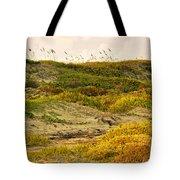 Coastal Plants On Dunes Tote Bag