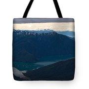 Coastal Range Fjords Tote Bag