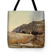 Coastal Scene Tote Bag by Henry Moore