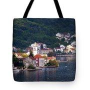 Coastal Town Of Montenegro Tote Bag