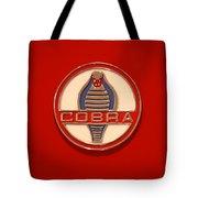 Cobra Emblem Tote Bag by Mike McGlothlen