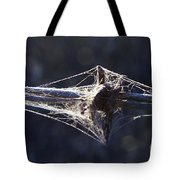 Cobwebs And Wire Tote Bag