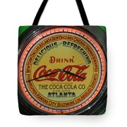 Coca Cola Clock Tote Bag
