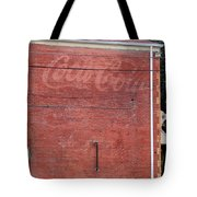 Coca Cola Faded Tote Bag