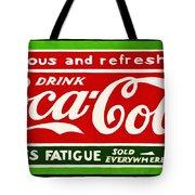 Coca-cola  Relieves Fatigue Tote Bag
