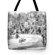 Cock Fighting, 1866 Tote Bag