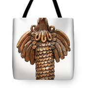 Cock Totem Bronze Gold Color Wings Beak Hair Eyes Scales Feathers Tote Bag
