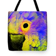 Cockatoo Of A Different Color Tote Bag