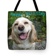 Cocker Spaniel Birthday Tote Bag