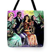 Coed Sax Section Tote Bag